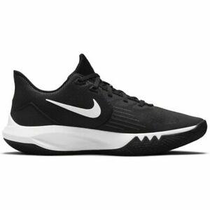 Nike Precision V Basketball Shoes, CW3403 003 Blac/White, US Sz MEN 9.5 & WMN 11