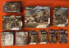 Mega Construx Call Of Duty World War II Lot Of 10 Sets New