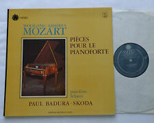 MOZART - BADURA SKODA Pieces for pianoforte FRENCH LP ASTREE AS 40 -EX/NMint