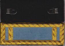 Civil War Infantry 1st Lieutenant Shoulder Boards Sky Blue Straps wFree $20 Coin