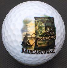 Margaritaville Its 5:00 O'clock Somewhere Jimmy Buffett Logo Golf Ball Display