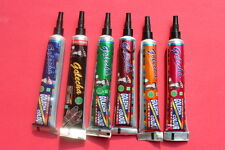 6  COLOR TUBES PASTE FOR TEMPORARY TATOO, Henna Mehndi Hand  Tattoo Paste Pen