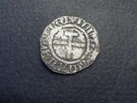 FEODALE/ DUCHE DE LORRAINE. RENE II 1473-1508. BLANC EN ARGENT DE NANCY **RRR3**