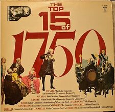 The Top 15 of 1750 - Various Orchestra and perfomers LP Record 1980 Classical EX