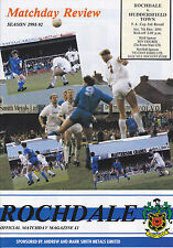 FA Cup Teams O-R Rochdale Football Programmes