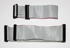 Retro cable kit HDD 40-pin + FDD 34-pin ribbon IDE / ATA 40-wire