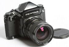Pentax 6x7 Gehäuse + Pentax 67 4,5/75 SMC + Prismensucher Prismfinder