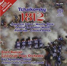 Tchaikovsky: 1812 (New Dsd Recording) - Cincinnati Pops Orch/Kunzel (NEW SACD)
