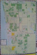 Naples Maco Island Bonita Springs 27 x 39 Laminated Wall Map (G)