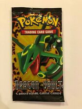 1 X Pokemon Sealed Booster Pack - Dragon Vault - Unweighed
