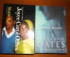 Joyce Carol Oates Middle Age a Romance & Mother Missing 2 Novels
