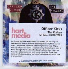 (AQ630) Officer Kicks, The Kraken - DJ CD