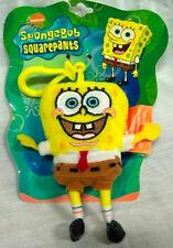 "Nickelodeon Nick Jr. SpongeBob Sponge Bob Plush 4"" Keychain Backpack plush-New"