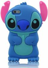 Blue Stitch Case Cute Movable Ear Flip Silicone Cover for iPhone 6 / 6s 4.7""
