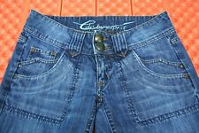 EDC BY ESPRIT Womens Boot Cut Craft Style Jeans Size 32R 29X31 7 Pocket Low Rise