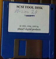 phase 5 CyberSCSI Original Tool Disk  Amiga 2000 3000 4000