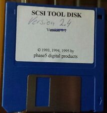 Fase 5 cyberscsi originale strumento disk Amiga 2000 3000 4000