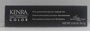 KENRA Professional Ammonia Free DEMI-PERMANENT Hair Color Cream ~U Pick~ 2.5 oz!