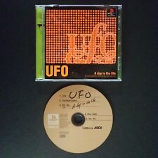 UFO A DAY IN THE LIFE PlayStation NTSC JAPAN・❀・ADVENTURE PUZZLE ASCII PS1 PS2
