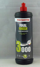 MENZERNA FINAL FINISH 3000 QUART NEW LOOK BODY SHOP PROFESSIONAL POLISH