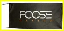 FOOSE FLAG BANNER  DESIGN wheels 5 X 2.45 FT 150 X 75 CM