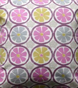 Retro Chic 'Energy Summer' pink, yellow, blue fabric