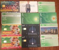 Collection of 12 x 1990's British Telecom Phone Cards See Pictures