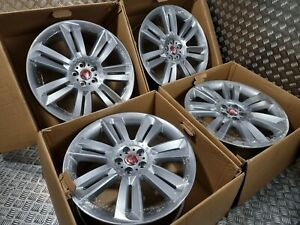 """Genuine OEM Jaguar XF XFR XFS 20"""" Nevis Supercharged Alloy Wheels Staggered RARE"""