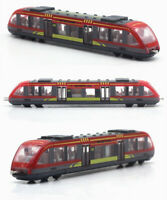 1/55 Alloy Subway Model Diecasts High Speed Railway Train Metal Vehicles Toys Y