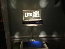 Miller Lite Beer Sign Bar Top Light Miller Cash Register Lamp Desk Lamp Ambiance