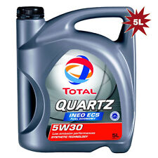 Total Quartz INEO ECS 5w-30 Motor Engine Oil - 5 Litres 5L for Citroën, Peugeot
