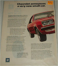 1975 Chevrolet Monza 2 + 2 car ad
