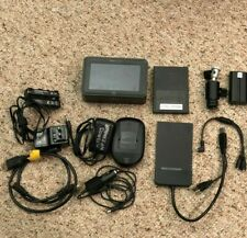 "ATOMOS Ninja Blade 5"" HDMI On-Camera Monitor Recorder 250gb SSD 2 batteries lanc"