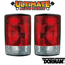 Tail Light Lamp Left & Right Set for 05-14 Ford Econoline E-150 E-250 E-350 Van