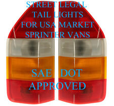 1995-2006 DODGE Sprinter MERCEDES van Tail Light Pair LH+RH SAE-DOT Approved