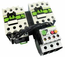 Reversing Motor Starter 3 HP @ 230V 230 Volt 12-18 Amp Overload 208-230V Coil