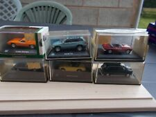 JOB LOT OF 6 ASSORTED 1/76  HONGWELL/OXFORD DIECAST CARS NO.2-/USED/MINT//BOXED/