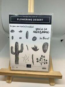 Stampin up Flowering Desert