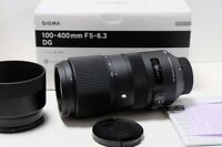 NEW SIGMA telephoto zoom lens Contemporary 100-400mm F5-6.3 DG OS HSM for Nikon