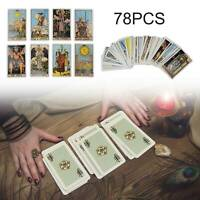 Tarot Cards Deck Card Rider Waite And Complete Sealed Card Game Learning Set UK