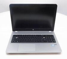 "HP ProBook 450 G4 15"" Core i5-7200U 2.5GHz 8GB RAM 500GB HDD Wn 10 Pro READ"