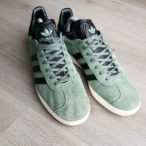 Adidas Gazelle Trainers Mens Size 10 Green