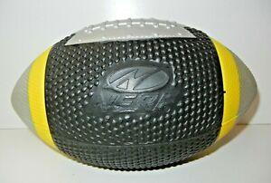 Vtg 2001 NERF Black/Yellow PEYTON MANNING FOOTBALL Soft Toy Ball Colts PERFECT!