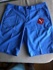 Puma Golf Tech Shorts Marine Blue 577369 08 Men's Size 36 Nwt $65