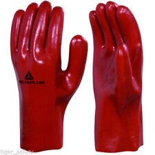 Gants de protection de travail rouge pour bricolage, taille XL