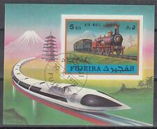 Fujeira 1971 Bl.47 B fine used c.t.o. Eisenbahn Railway Locomotive Lokomotive