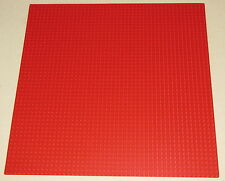 LEGO NEW LARGE 48 X 48 DOT 15 X 15 INCH RED BASEPLATE PLATFORM PIECE