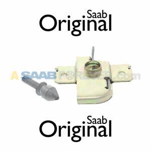 SAAB 9000 HOOD LOCK SET KIT CSE 1994-1998 NEW GENUINE OEM DISCONTINUED 4613469