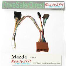 SOT-067 Mazda Bongo ISO Parrot Cablaggio Adattatore Cablaggio Telaio Piombo