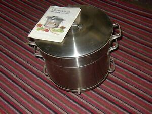 Mehu-Maija steam cooker/fruit juice extractor